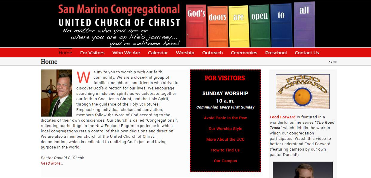 SAN MARINO CONGREGATIONAL UNITED CHURCH OF CHRIST