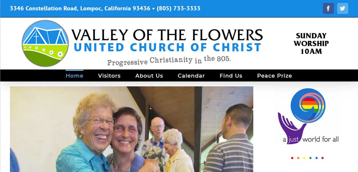 VALLEY OF THE FLOWERS UNITED CHURCH OF CHRIST