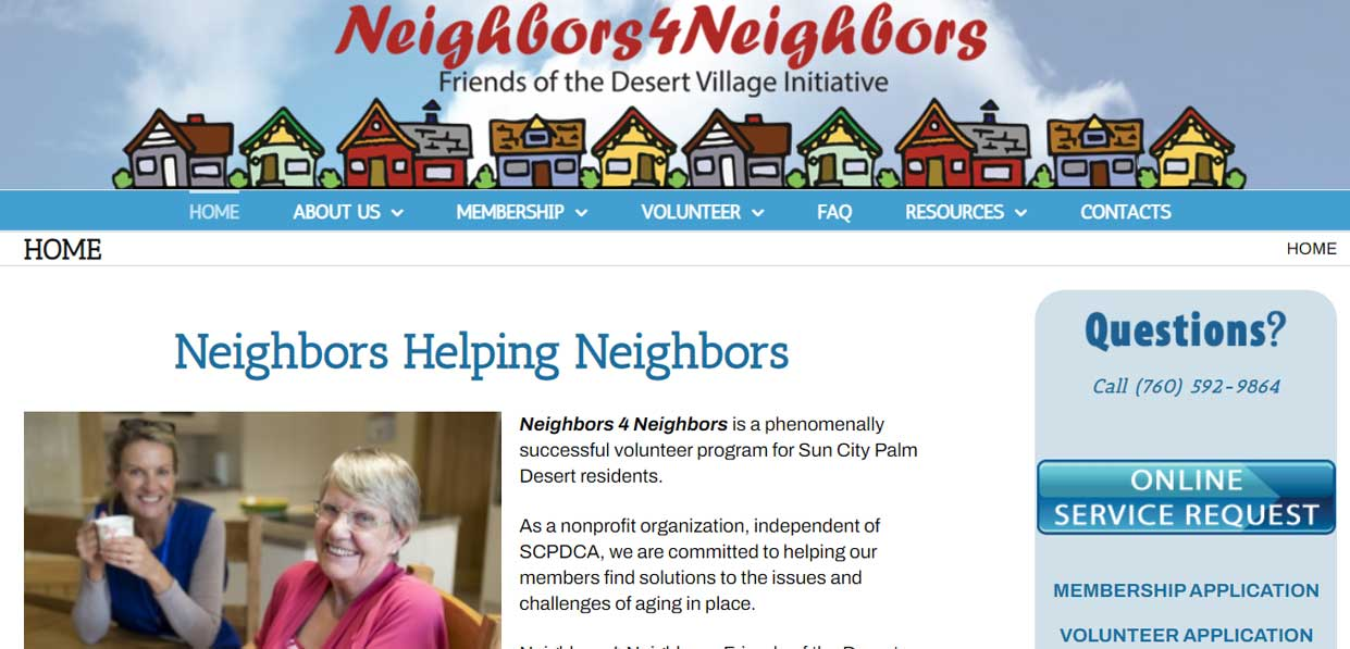 Neighbors 4 Neighbors